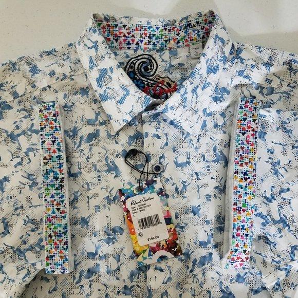 NEW Robert Graham Abstract Short Sleeve Shirt NWT